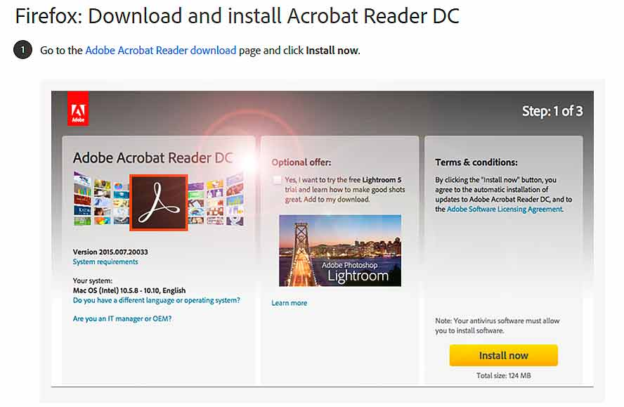 Adobe Reader Mac