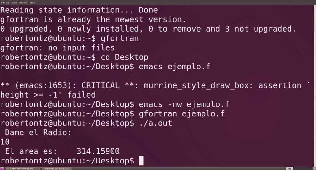 Fortran Mac